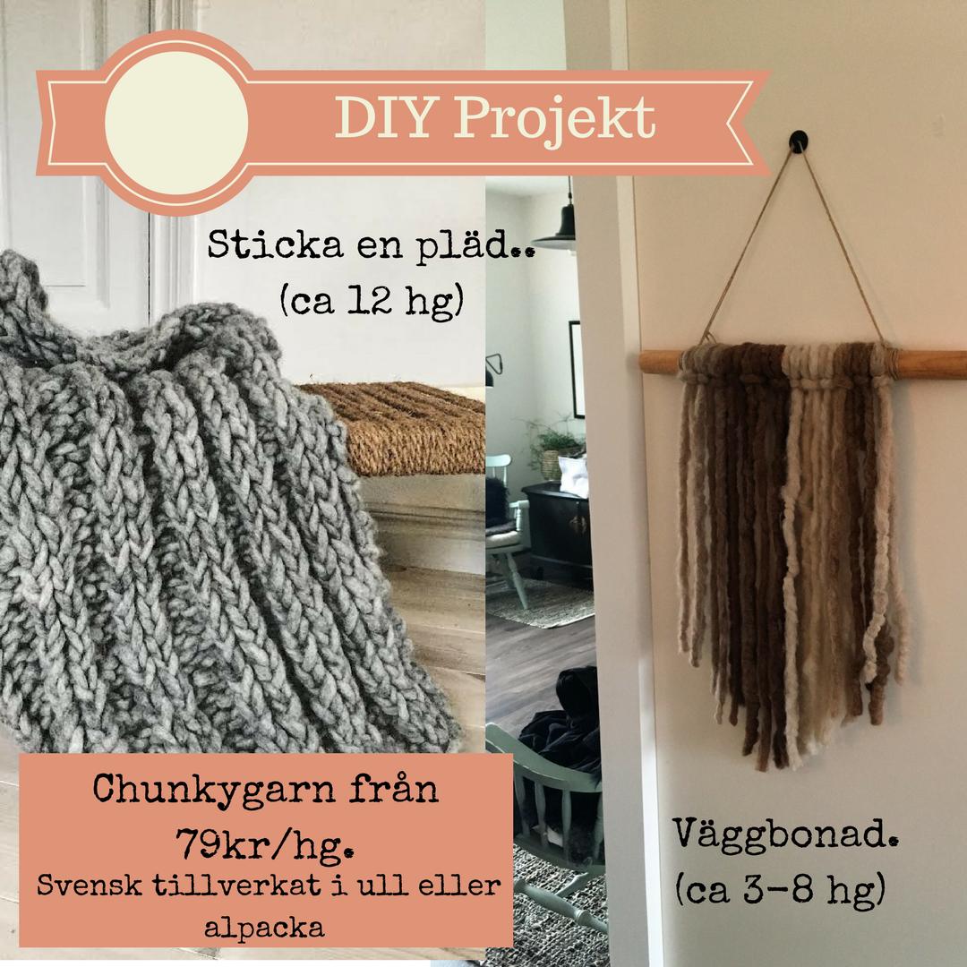 DIY projet Chunky garn