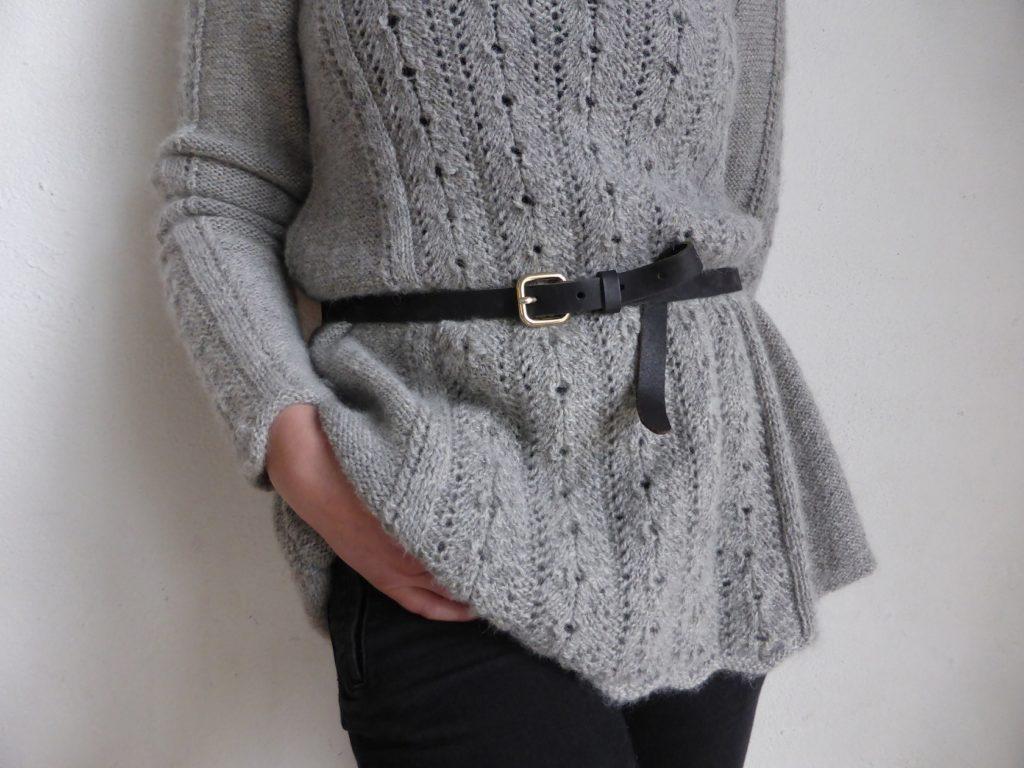 A-linjeformad tröja