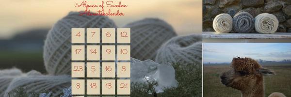 Alpaca of Swedens julkalender 2016