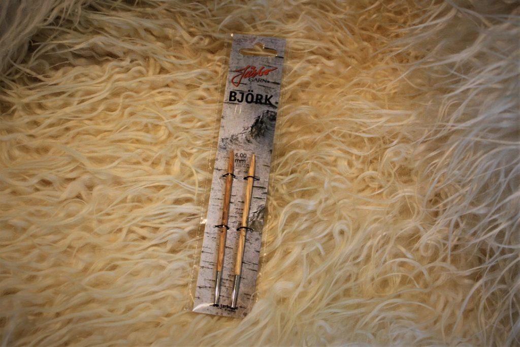 Järbo ändstickor 4mm i björk