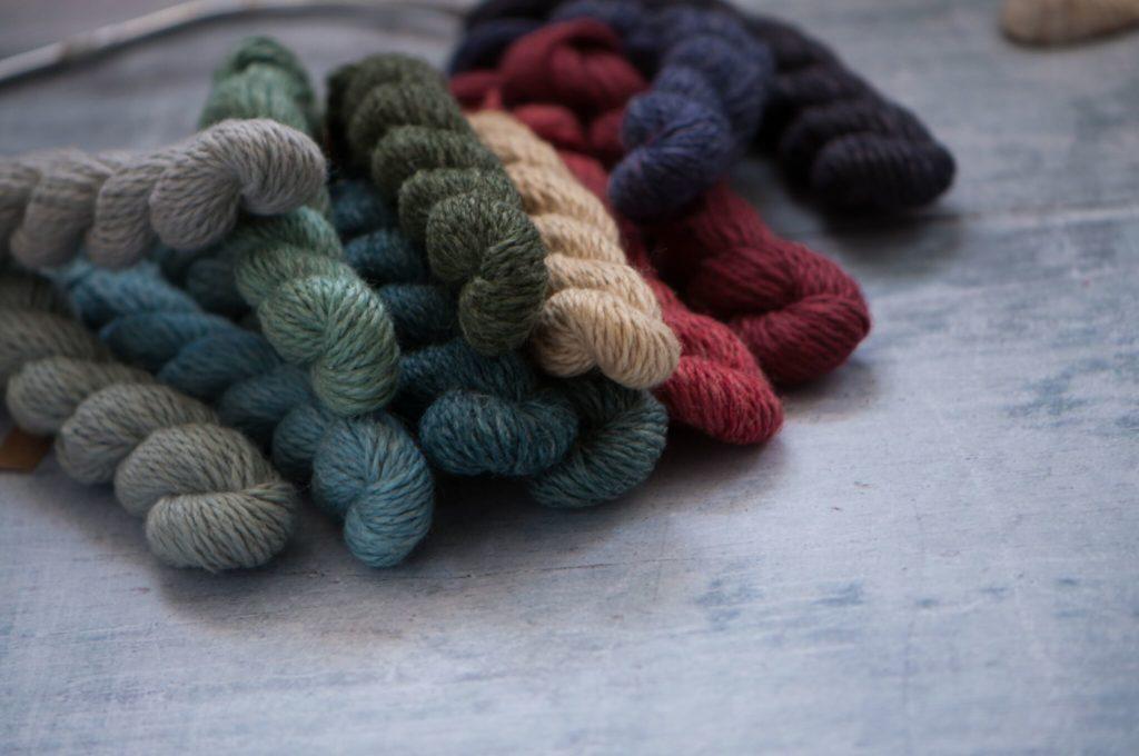Luma blandgarn i organisk bomull, lin, merino och silke