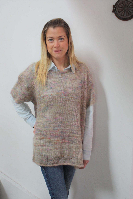 Lisen tröja i Kid Silk Lace, stickkit