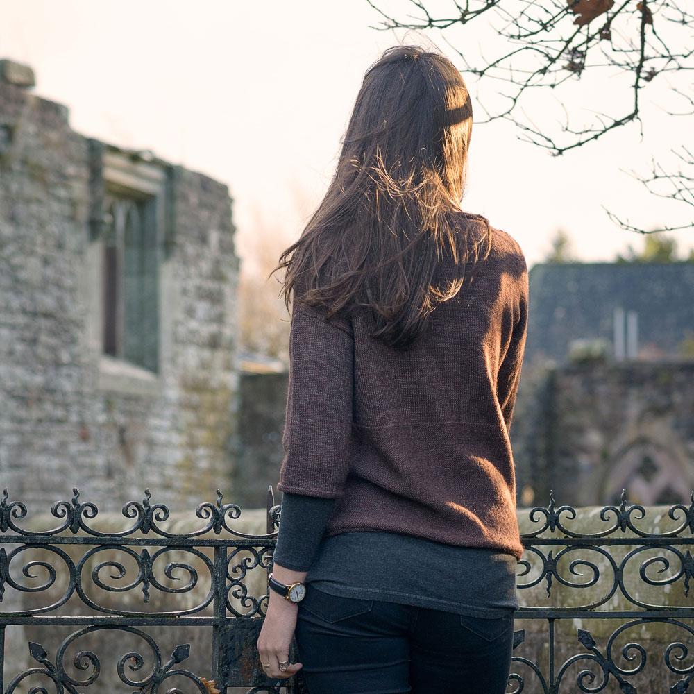 Boxy Sweater i Canopy garn, stickkit