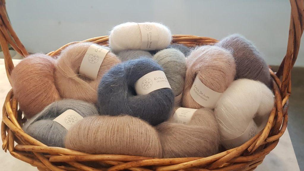 blandade färger Silk Mohair (2)